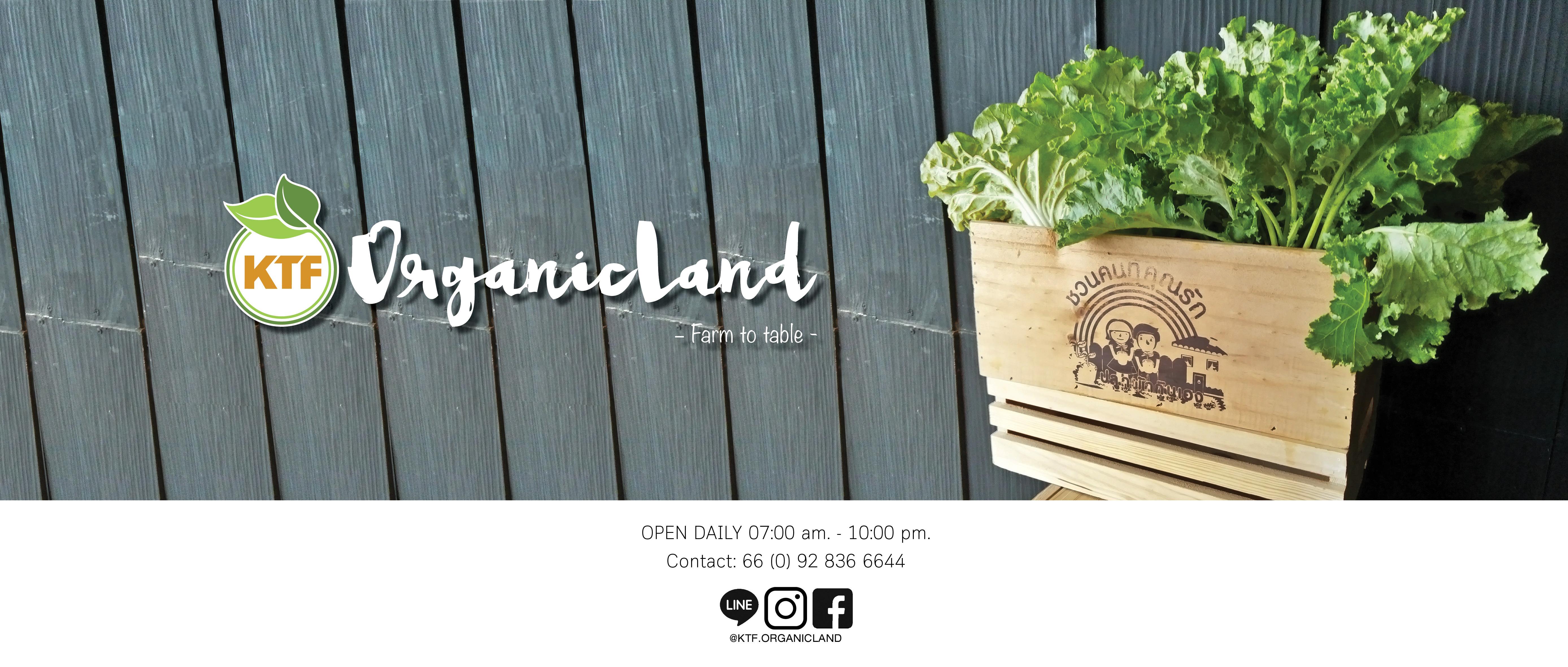 บริษัท ปุ๋ยอินทรีย์เกษตรไทย จำกัด    KTF KASET THAI    KTF Organic Land